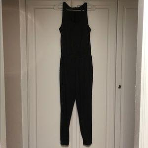 Dark gray marled jumpsuit